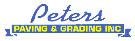 Peters Paving & Grading Inc logo