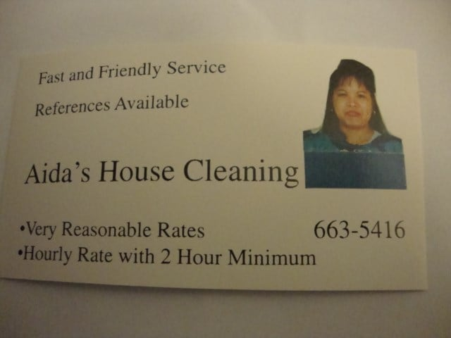 Aida's House Cleaning