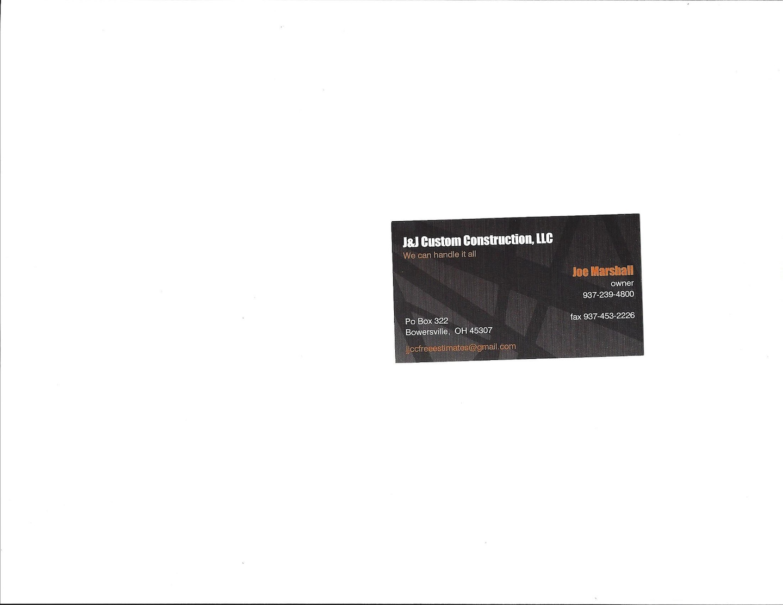 J&J Custom Construction LLC