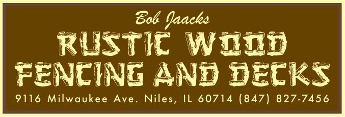 Bob Jaacks Rustic Wood Fencing & Decks