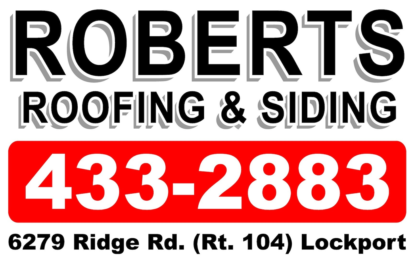 Roberts Roofing & Siding Co Inc