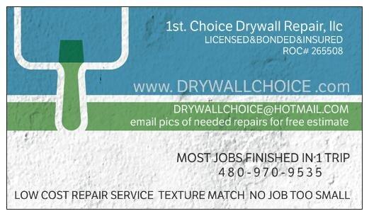 1st Choice Drywall Repair LLC