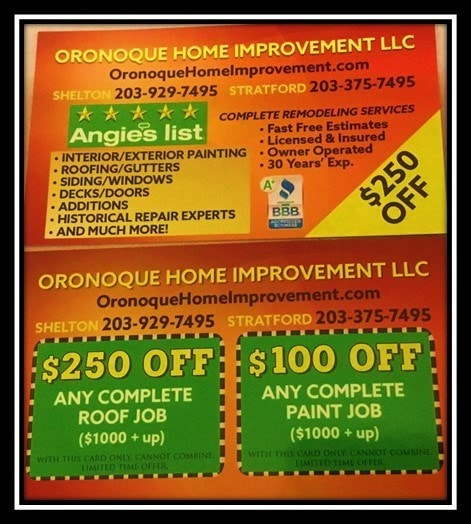 Oronoque Home Improvement LLC