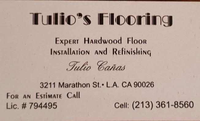 Tulio's Flooring