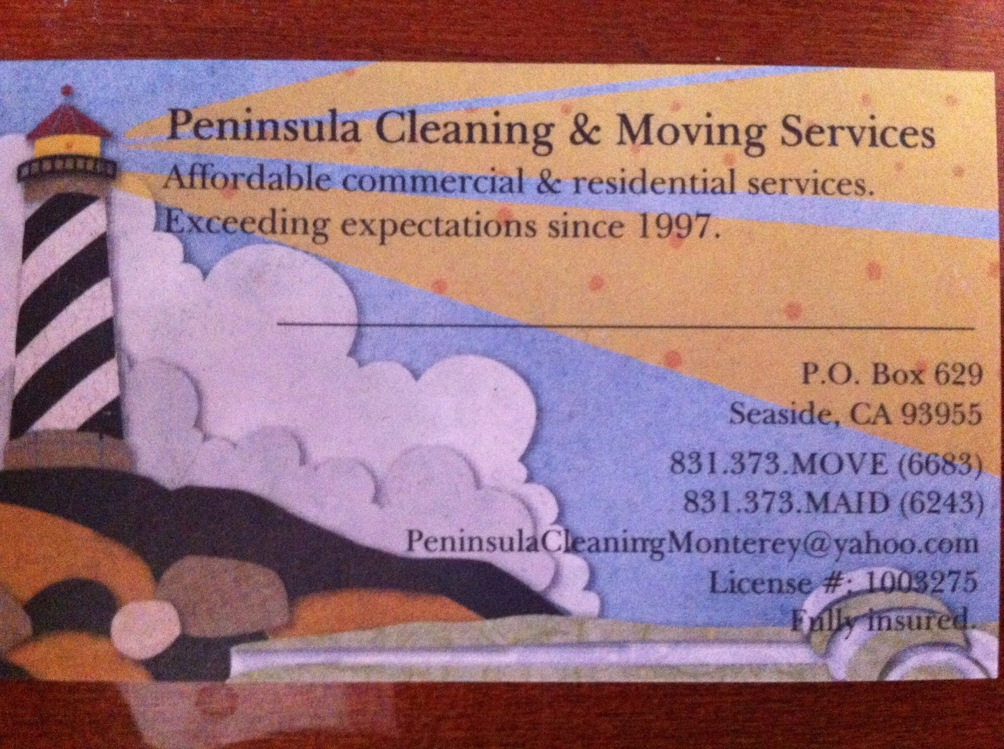 Peninsula Cleaning and Moving services