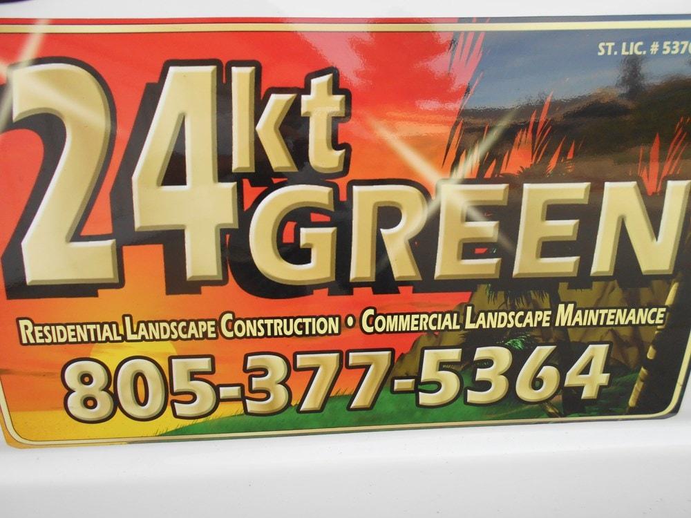 24 Kt Green