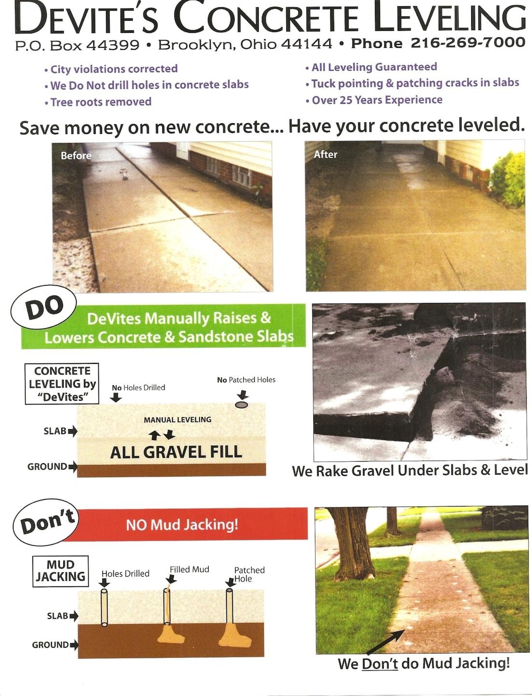 DeVites Concrete Leveling