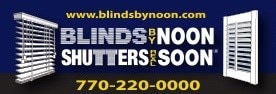 Blinds by Noon & Shutters Real Soon Inc