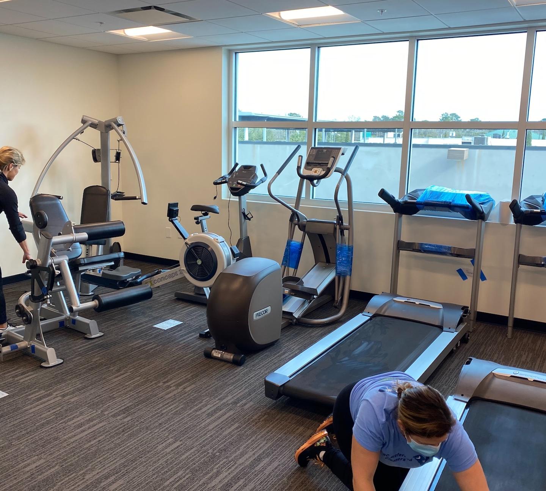 GMC/Cadillac Dealership Gym Reloaction