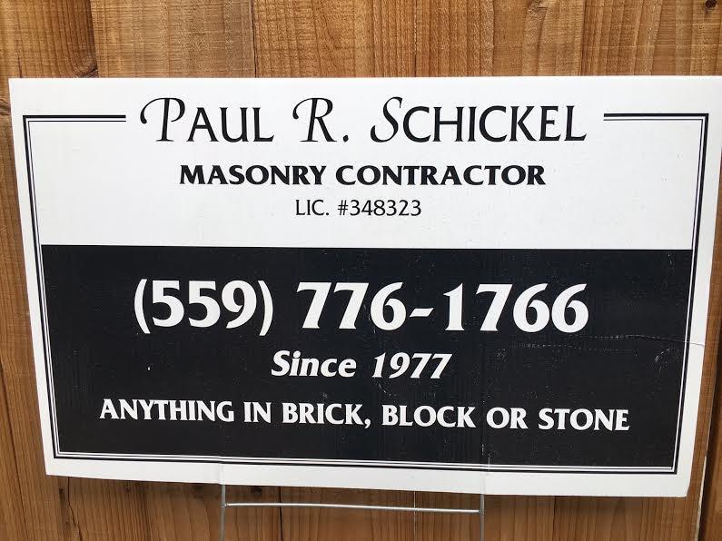 PAUL R SCHICKEL
