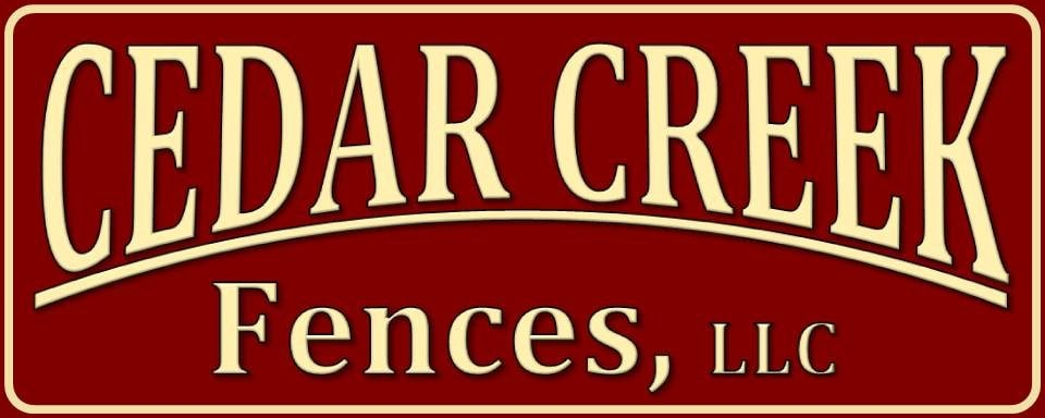 Cedar Creek Fences logo