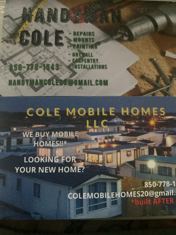 Handyman Cole/Cole Mobile Homes