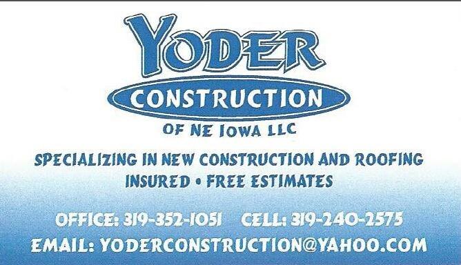 Yoder Construction of NE Iowa LLC