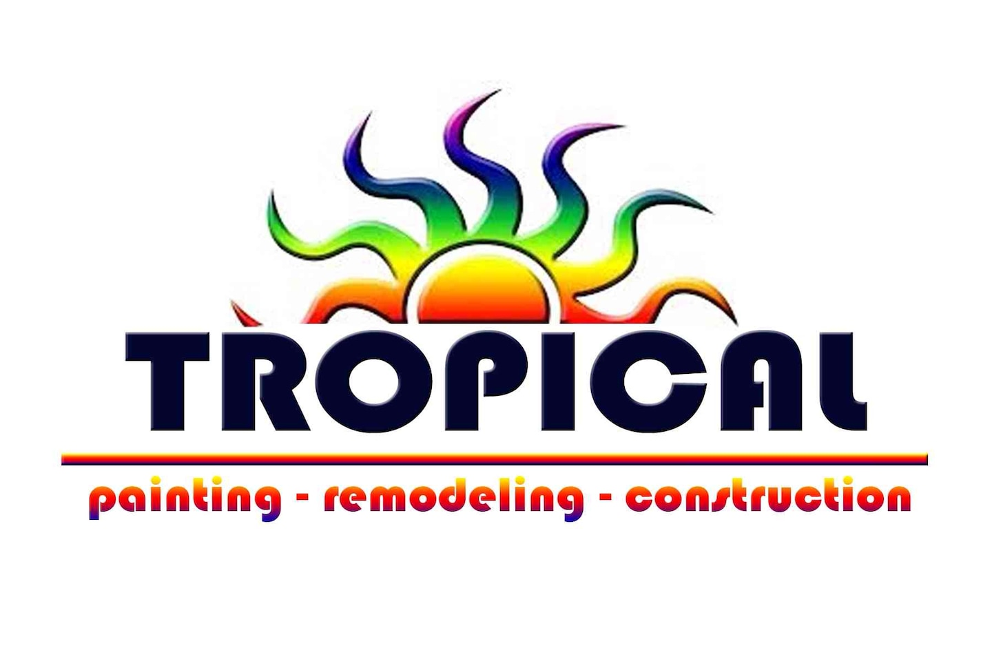 Tropical Painting & General Construction Company logo