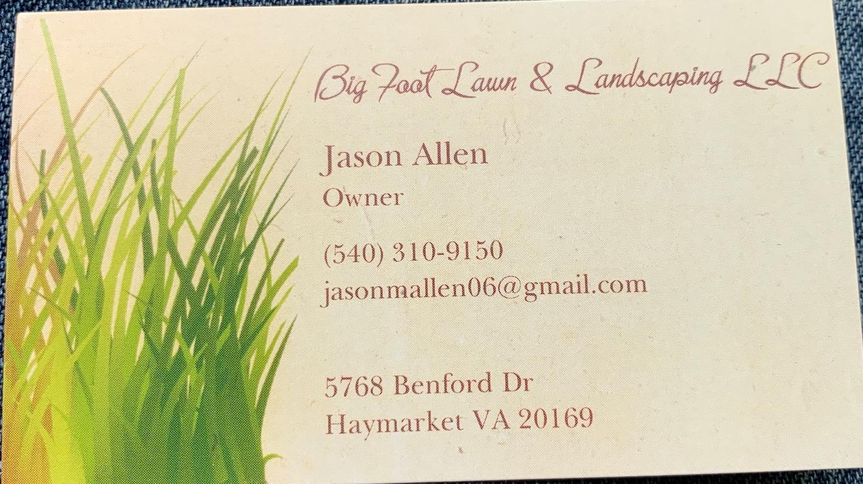 BigFoot lawn & Landscaping LLC