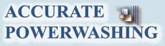 Accurate Power Washing logo