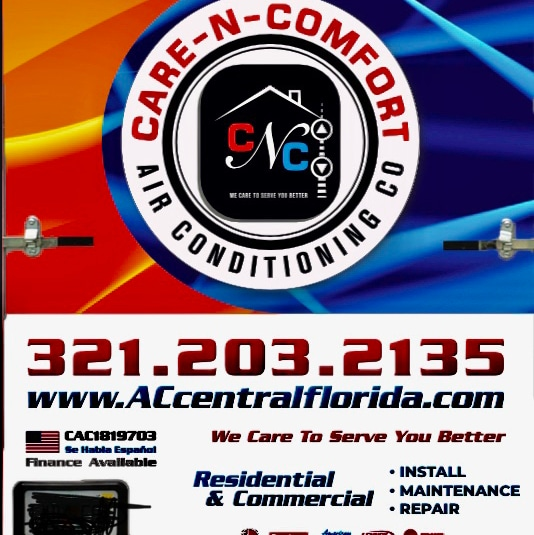 Care-N-Comfort Air conditioning Co.