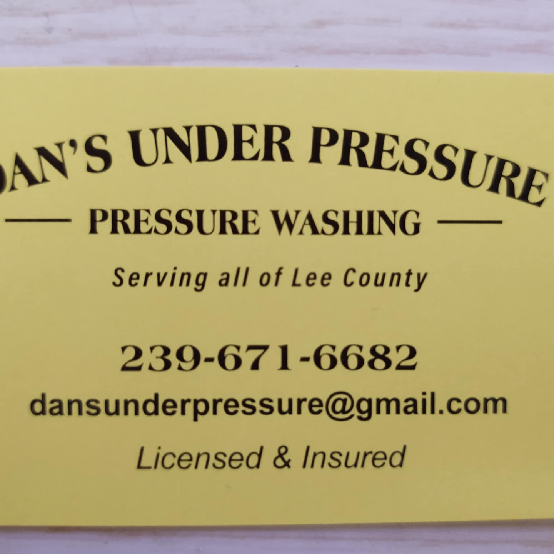Dan's Under Pressure