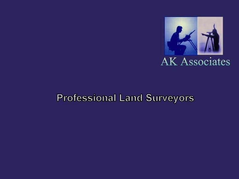 AK Associates  Professional Land Surveyors