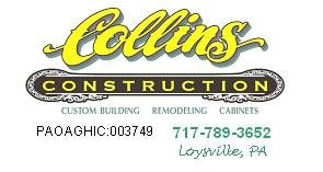 Collins Construction, Inc. Reviews - Loysville, PA | Angie ...