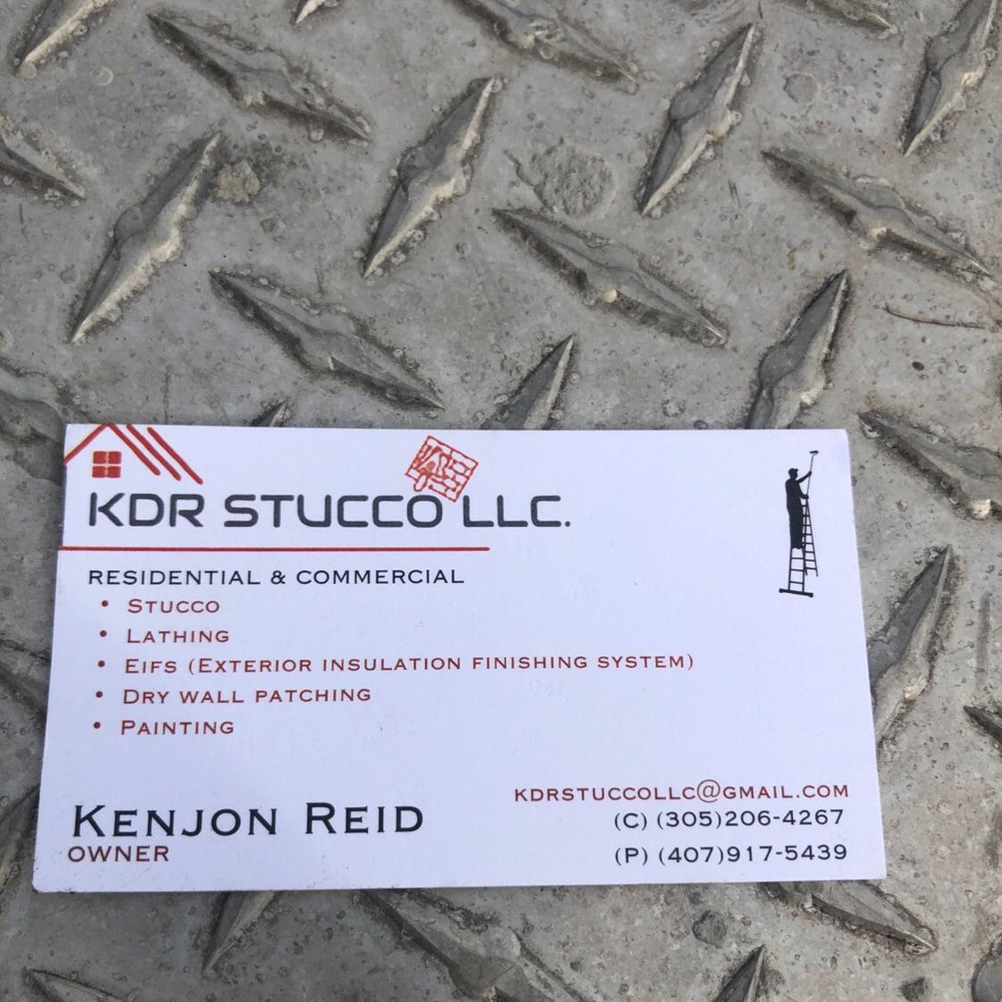KDR Stucco