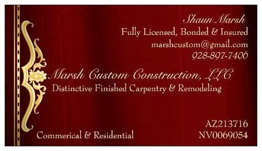 Marsh Custom Construction, LLC