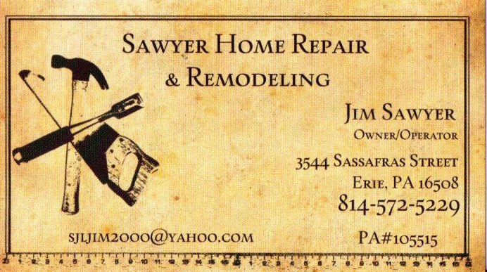 Sawyer Home Repair and Remodeling