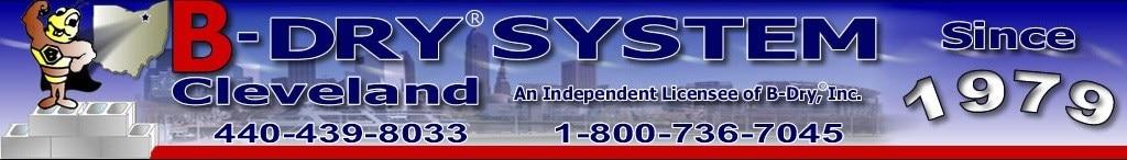 B-DRY SYSTEM CLEVELAND logo