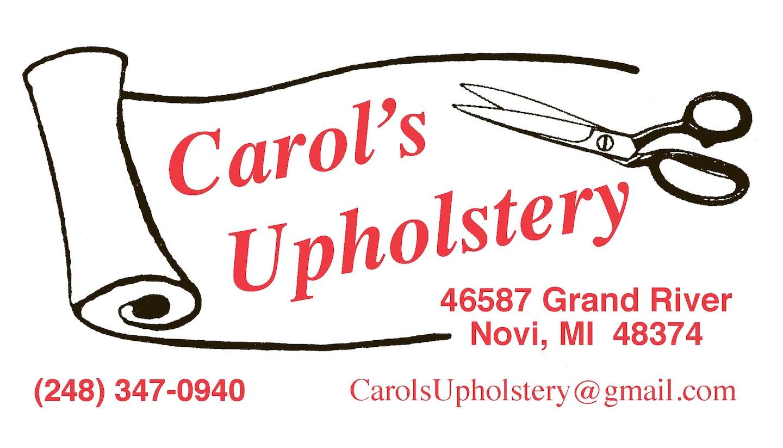 Carol's Upholstery