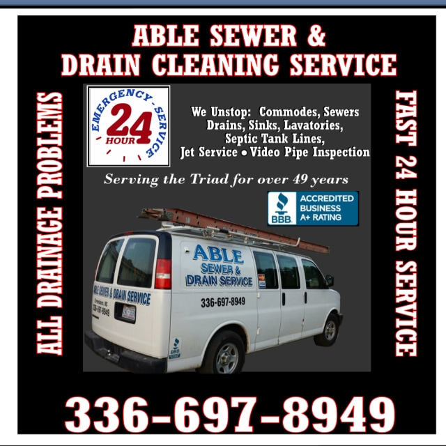 Able Sewer & Drain Cleaning