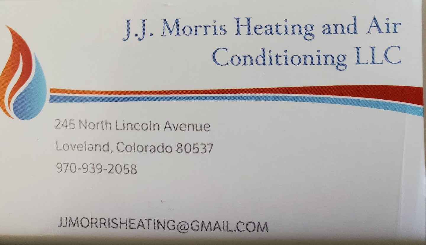 J.J Morris Heating and Air Conditioning LLC