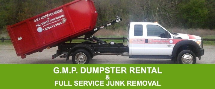 GMP Dumpster Rental and Full Service Junk Removal