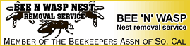 BEE N' WASP NEST REMOVAL SERVICE