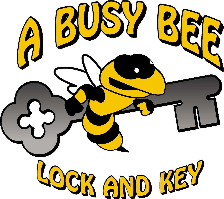 A Busy Bee Lock & Key