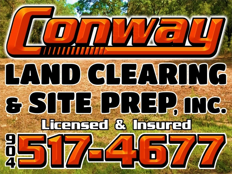 Conway land clearing and site prep