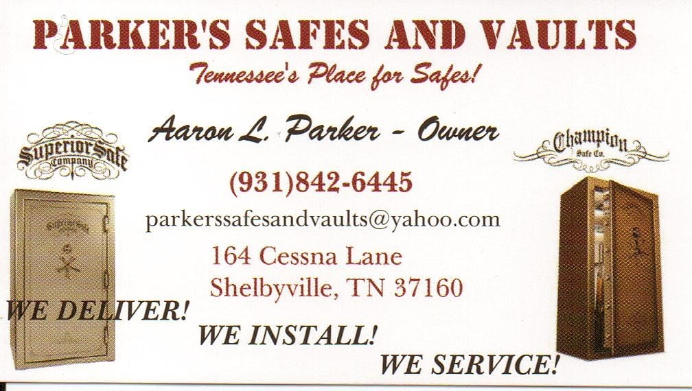 Parker's Safes and Vaults www.parkerssafesandvault