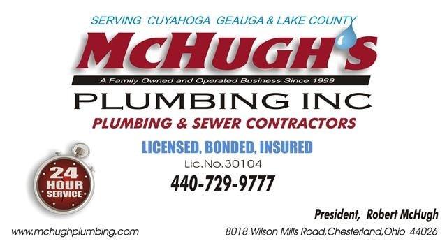 McHugh's Plumbing Inc