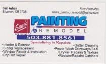 Sam's Painting & Remodel