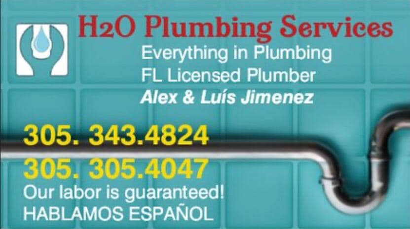 H2O Plumbing Service of South Florida