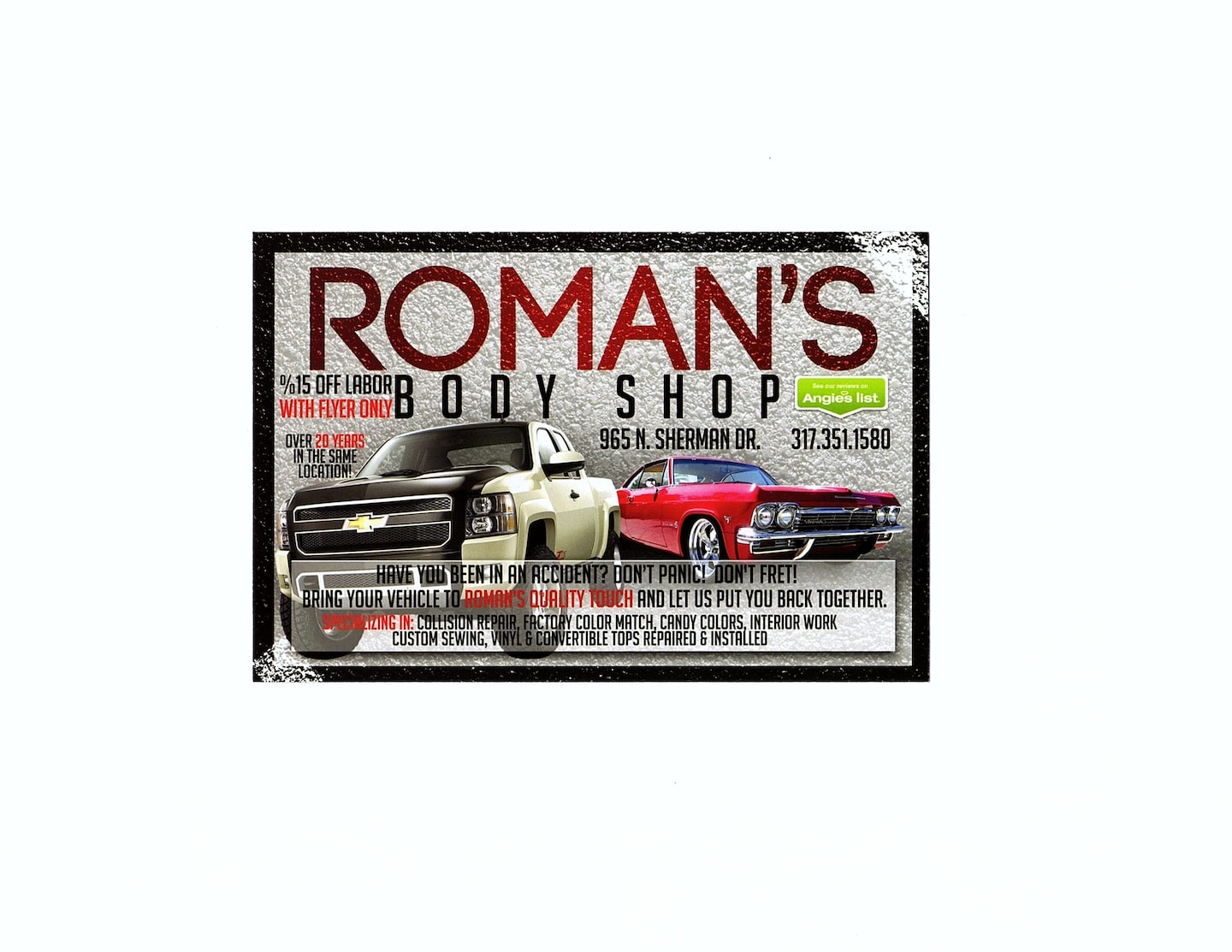 Romans Quality Touch