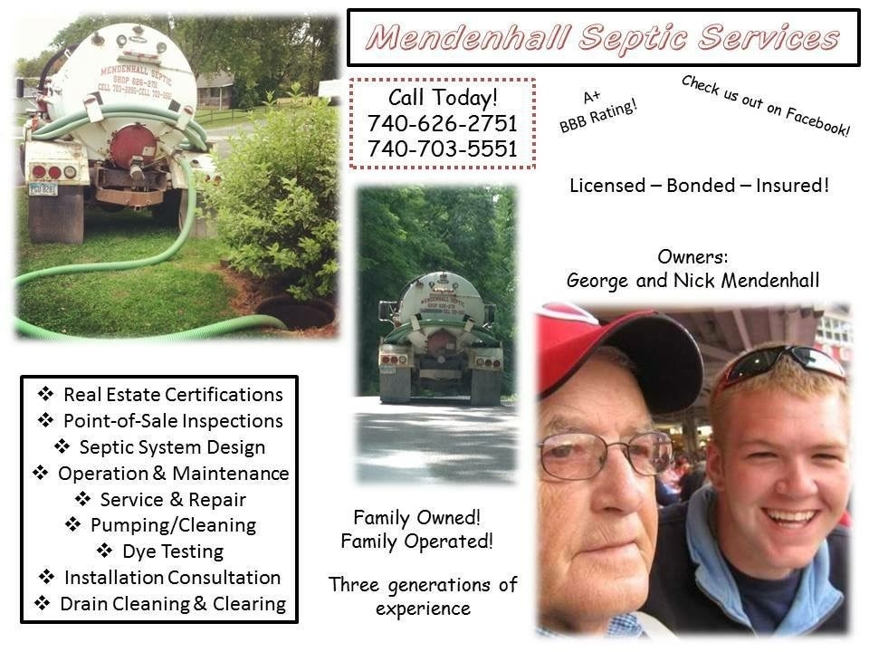 Mendenhall Septic Services