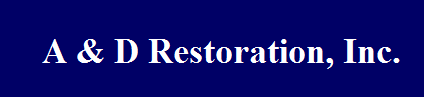 A & D Restoration Inc logo