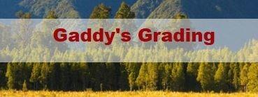 Gaddy's Grading