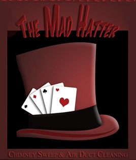 THE MAD HATTER AIR DUCT CLEANING & CHIMNEY SWEEPIN