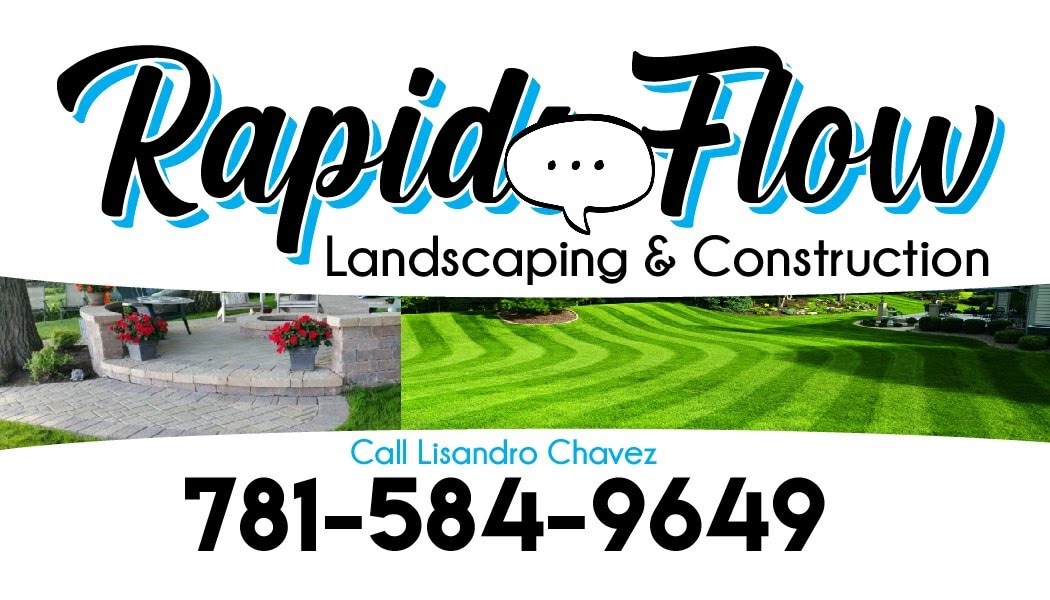 Rapid Flow Landscaping & Construction logo