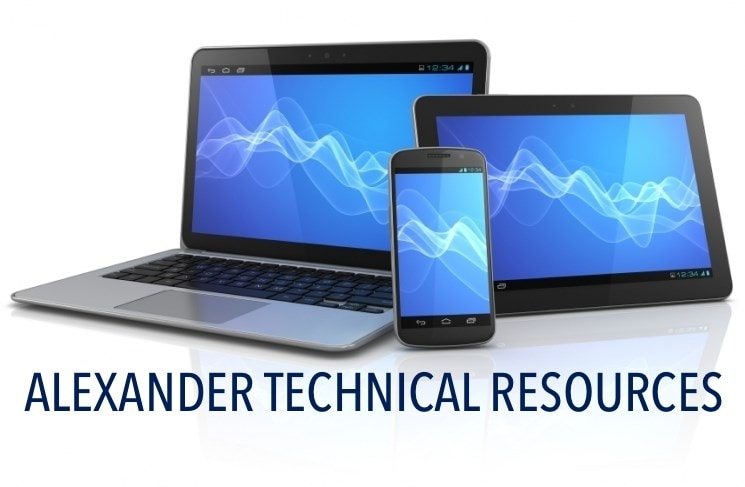 Alexander Technical Resources
