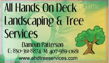 All Hands On Deck Landscaping & Tree Services