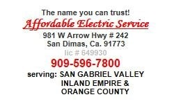 Affordable Electric Service logo