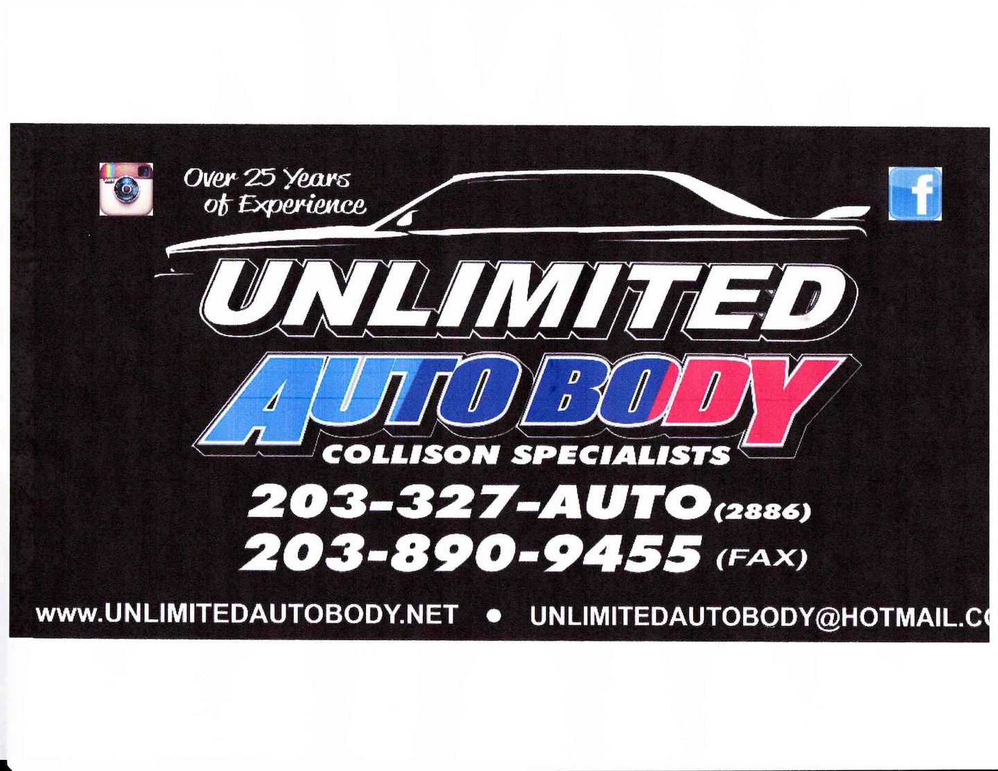Unlimited Auto Body & Collision Specialists