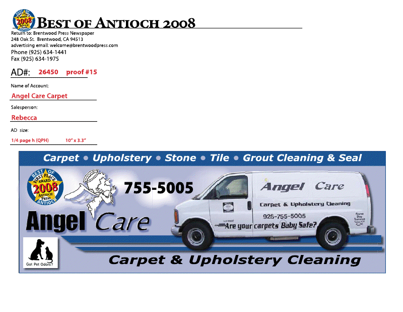 Angel Care Carpet Cleaning